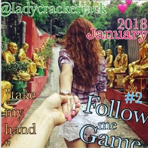 """Tops - FOLLOW GAME 2018🎈NEW YEAR☀️NEW FG """"TAKE MY HAND"""""""